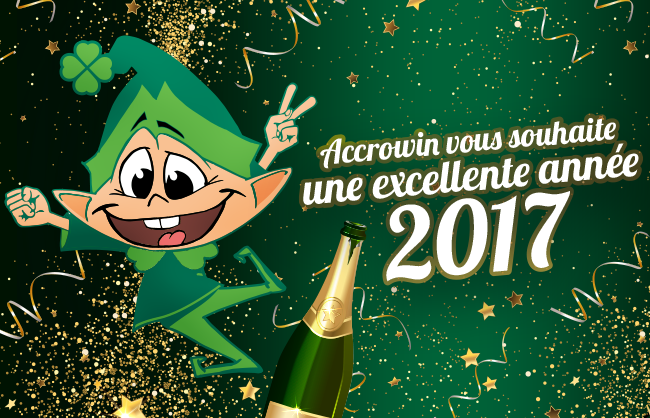 Nos meilleurs vœux pour 2017