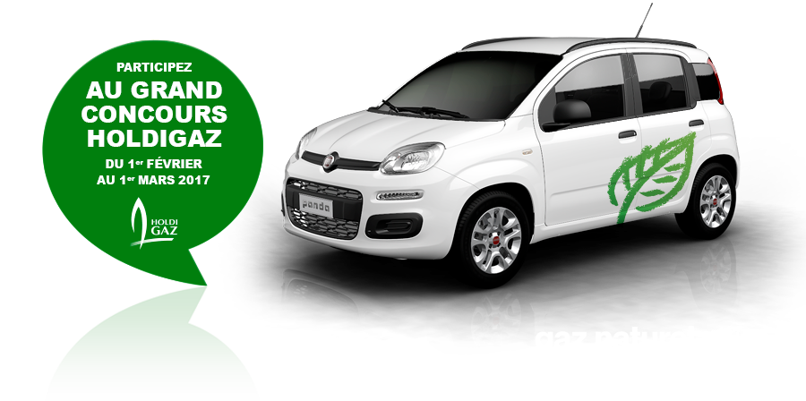 concours gagnez un voiture fiat panda au gaz naturel biogaz. Black Bedroom Furniture Sets. Home Design Ideas