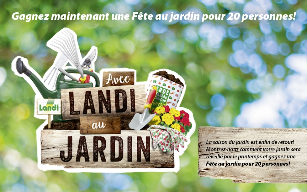Concours landi gagnez une f te de jardin pour 20 for Landi meubles de jardin