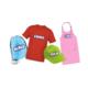 Gagnez des T-shirts, casquettes, tabliers, sacs et frisbees