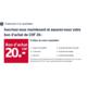 Recevez CHF 20.- gratuitement sur Ackermann.ch