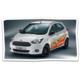 Gagnez une Ford KA+ blanche décorée d'une multitude d'emoji de toutes les couleurs