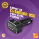 Gagnez un chargeur 4 ports USB pour votre voiture