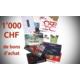 Gagnez 1'000 francs de bons d'achat