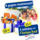 Gagnez l'un des 50 paquets de nouveautés Ovomaltine et des entrées pour l'Europa-Park
