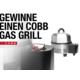 Gagnez un gril Cobb avec livre de recettes