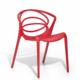 Gagnez 4 chaises de jardin DESIGN rouges