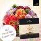 Gagnez un arrangement floral avec un boîte de Gottlieber Hüppen