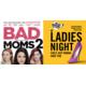 """Gagnez vos places pour la soirée Ladies Night avec le film """"BAD MOMS 2""""  le 5 décembre 2017 à Lausanne"""