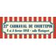 Gagnez vos repas au Carnaval de Courtepin les 2 et 3 février 2018