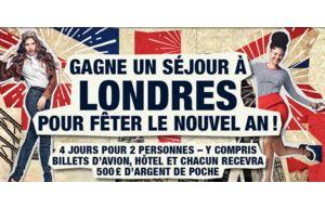Gagnez un séjour à Londres pour 2 pour la Saint-Sylvestre