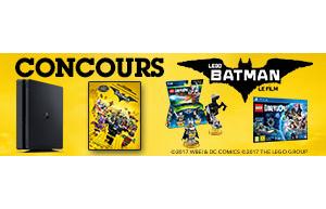 """Gagnez des super cadeaux """"LEGO BATMAN LE FILM"""""""