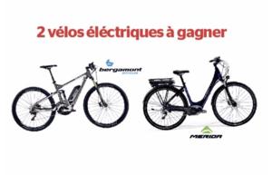 Gagnez des Vélos e-bikes