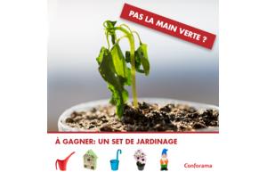 Gagnez un set de jardinage