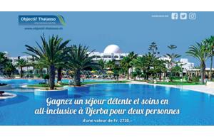 Gagnez un séjour pour 2 personnes all-inclusive à Djerba