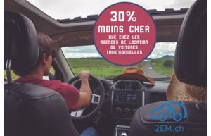 Louez un véhicule privé à un prix dérisoire sur 2EM.ch