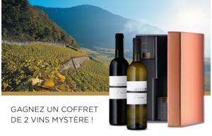 Gagnez un des 10 coffrets de 2 vins mystère