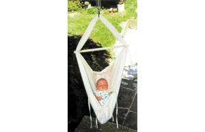 Gagnez un hamac pour votre bébé d'une valeur de CHF 188.-