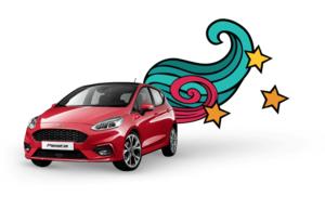 Gagnez une Ford Fiesta ST-Line d'une valeur de 21'000 francs