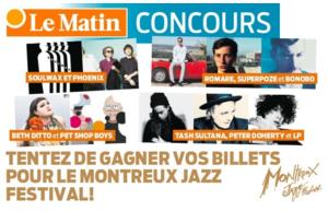 Gagnez vos billets pour le Montreux Jazz Festival