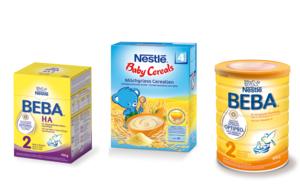 Gagnez un paquet surprise Nestlé pour votre bébé d'une valeur de CHF 100.-